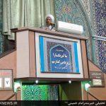 آیت الله فرحانی عضو مجلس خبرگان رهبری در بندر امام خمینی