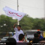گزارش تصویری کاروان شادی نیمه شعبان در بندر امام خمینی(ره)