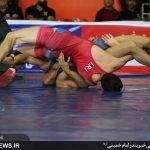 مسابقات کشتی آزاد نوجوانان خوزستان 1397