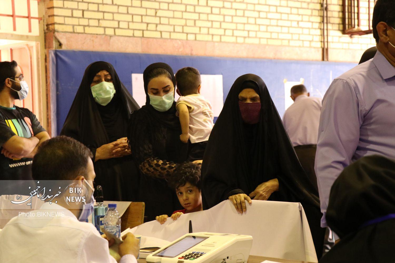 گزارش تصویری | حضور پرشور مردم بندرامام خمینی در انتخابات ۱۴۰۰